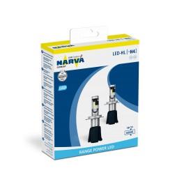 Led Headlight H4 6000°K Range Power  Narva 180043