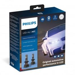 Led Headlight H7 5800°K x2 Pro9000 Philips